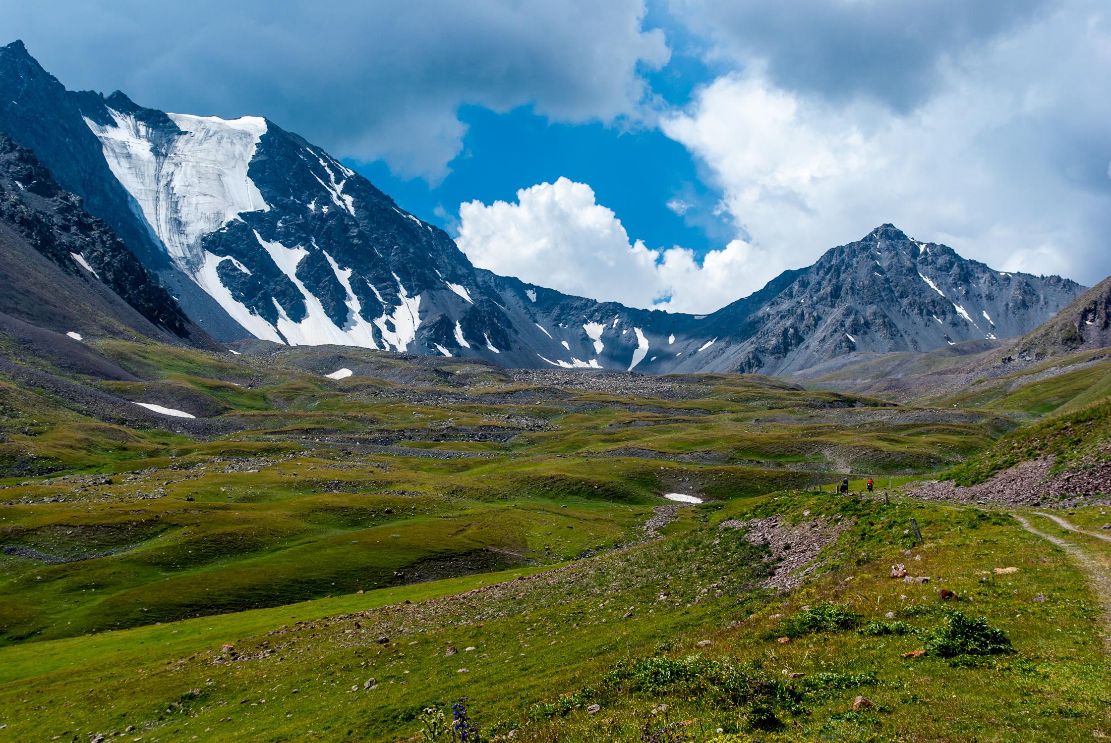 Вершины Киргизского хребта