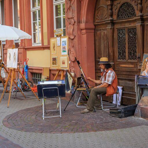 Heidelberg, Nuremberg, Dresden.