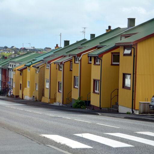 Фарерские острова. Торсхавн: Гавань Тора, Порт смолы. Кому как больше нравится.