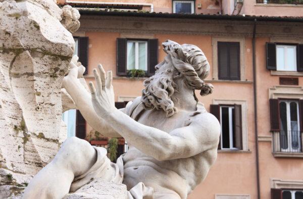 Пьяцца Навона, Рим, Италия