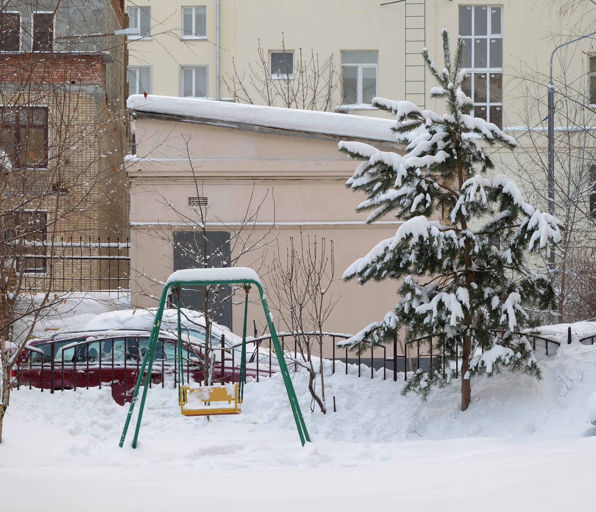 Зима вХамовниках