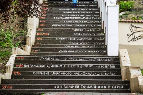 Город Сочи.