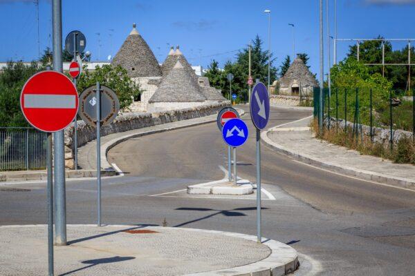 Alberobello, Bari and Matera