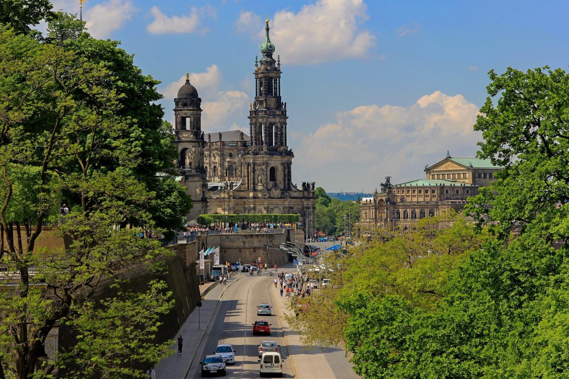 Дрезден. Город моего детства.