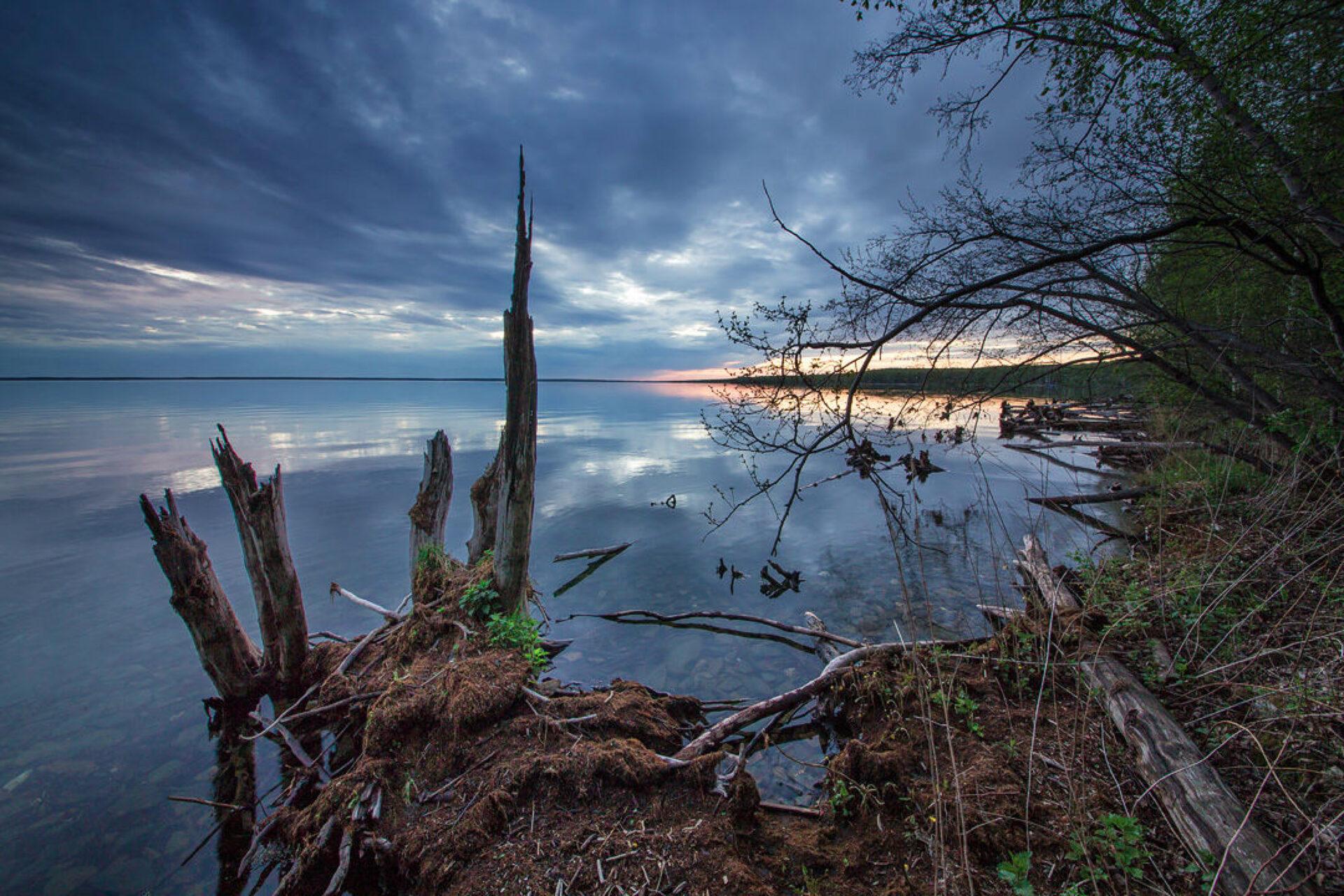 Озеро Увильды, Челябинская облсть