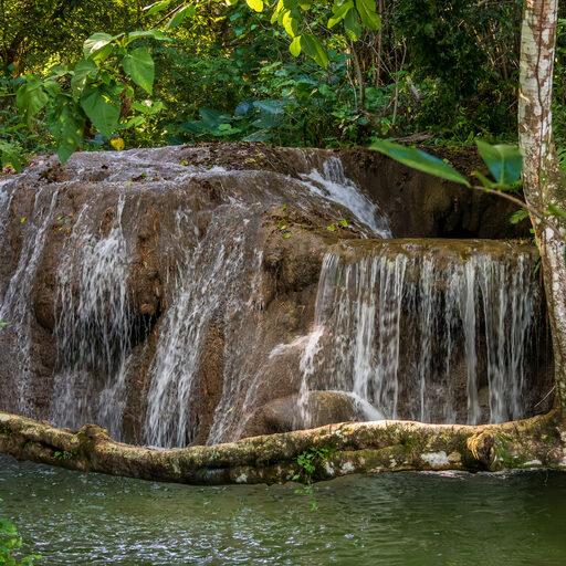 Доминикана. Водопадик