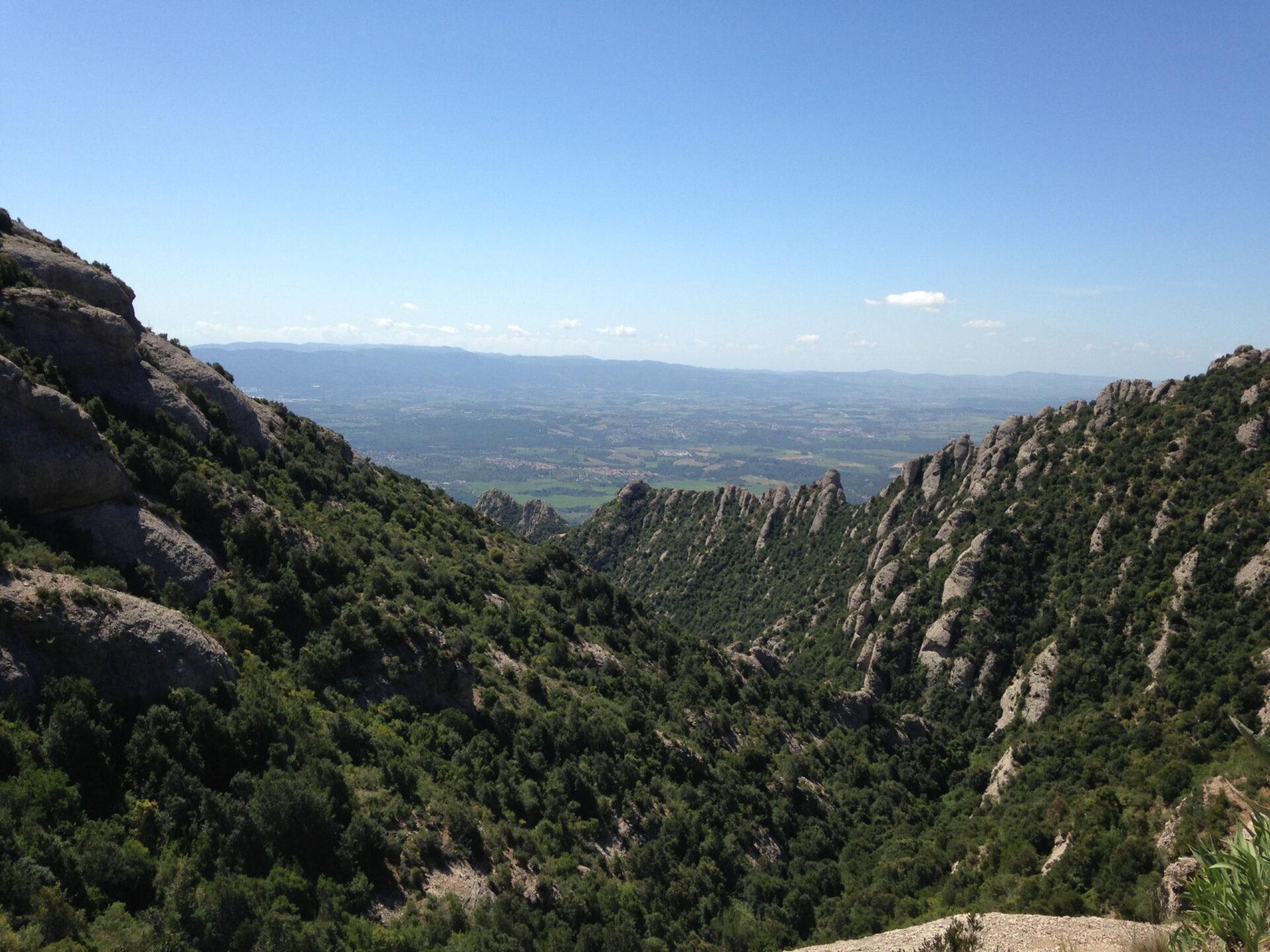 Гора Монсеррат.
