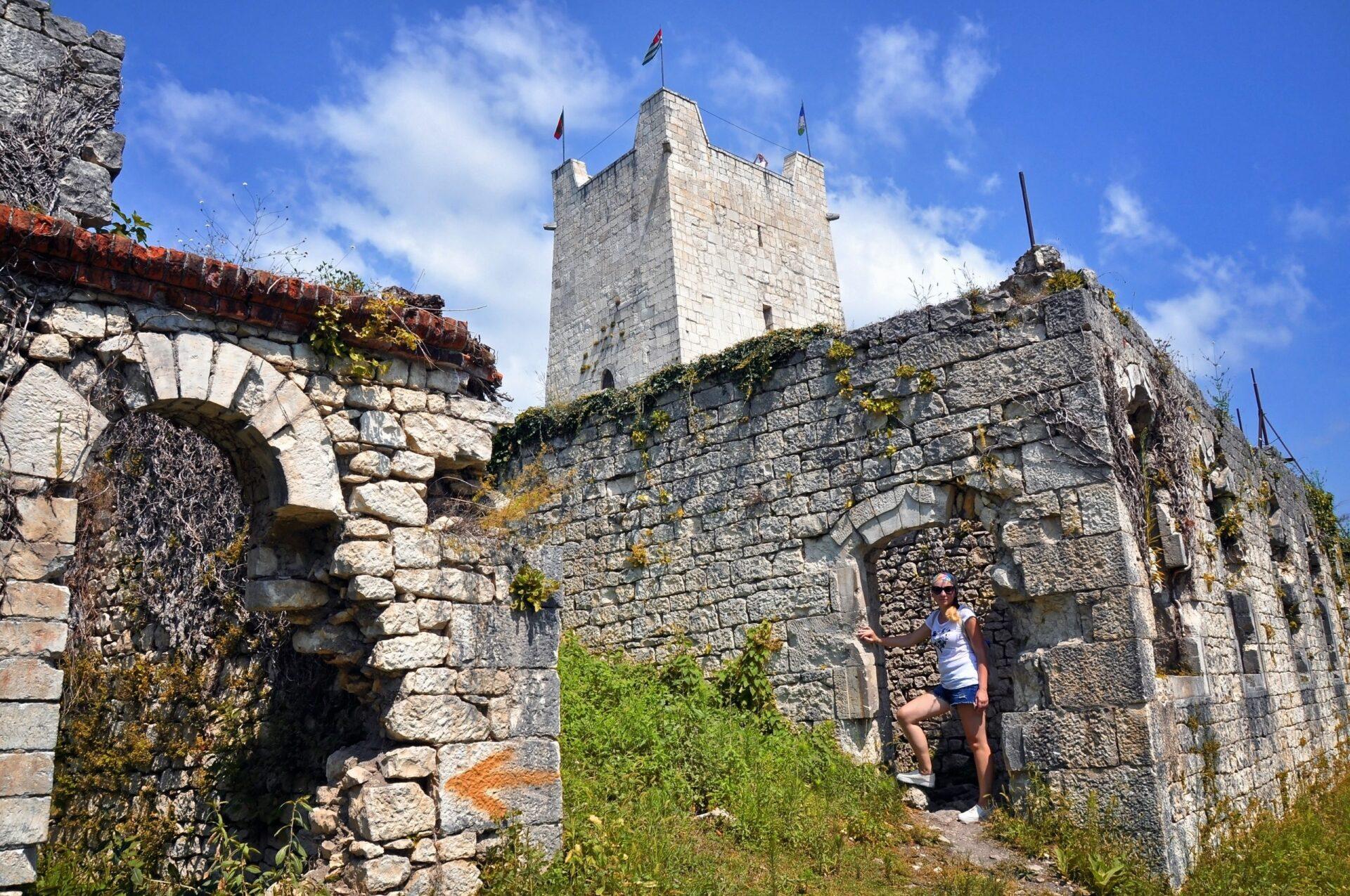 Анакопийская крепость наИверской горе