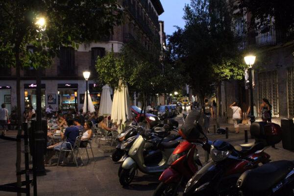 Мадрид вавгусте
