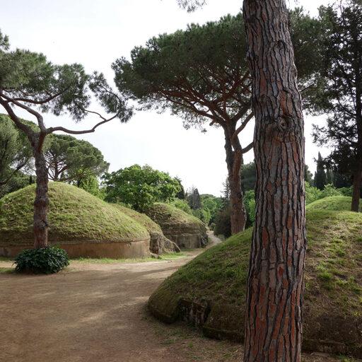 Этрусские некрополи в Черветери, Италия