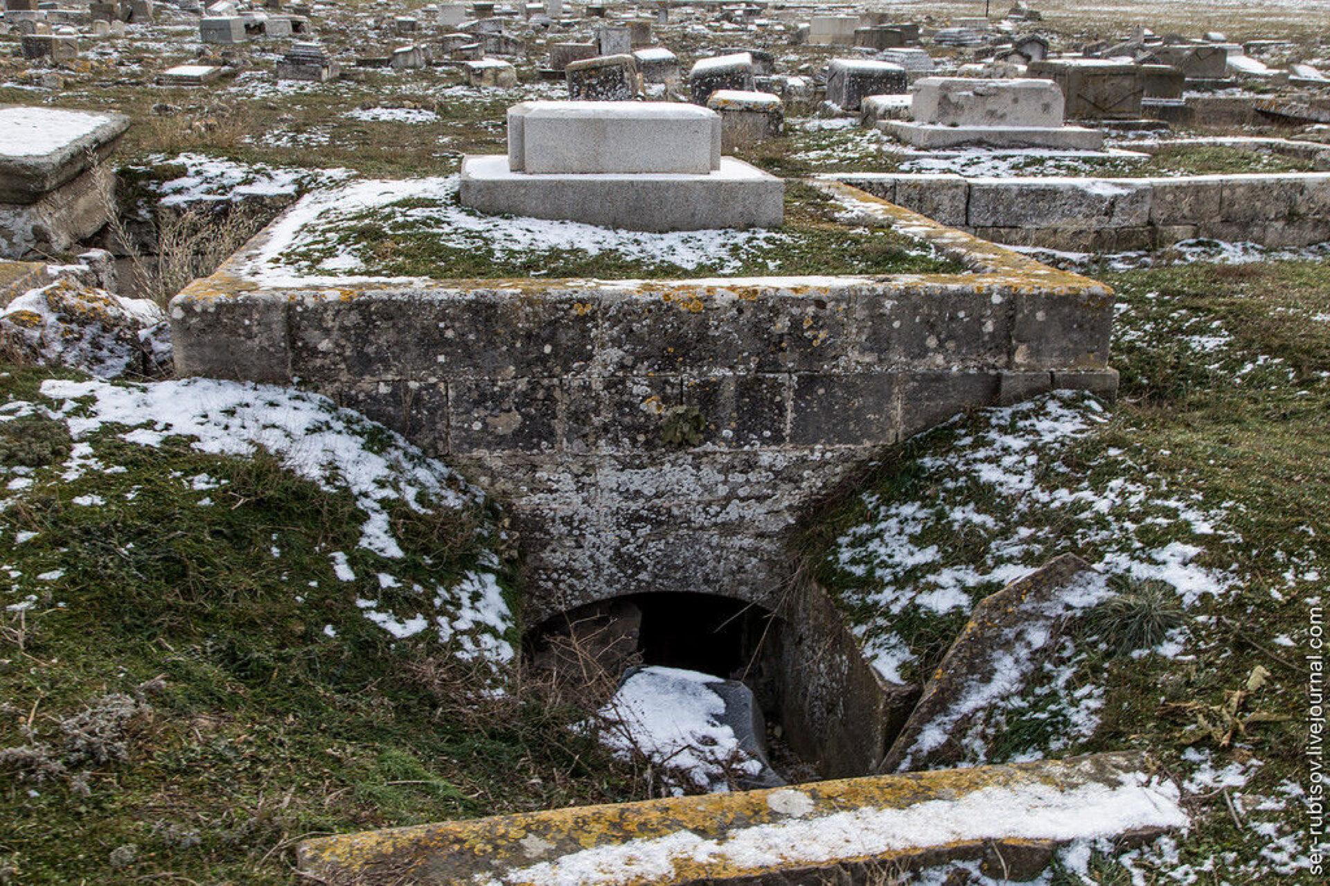 Старое караимское кладбище вСевастополе