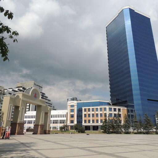 Центр Красноярска. Часть 2: проспект Мира