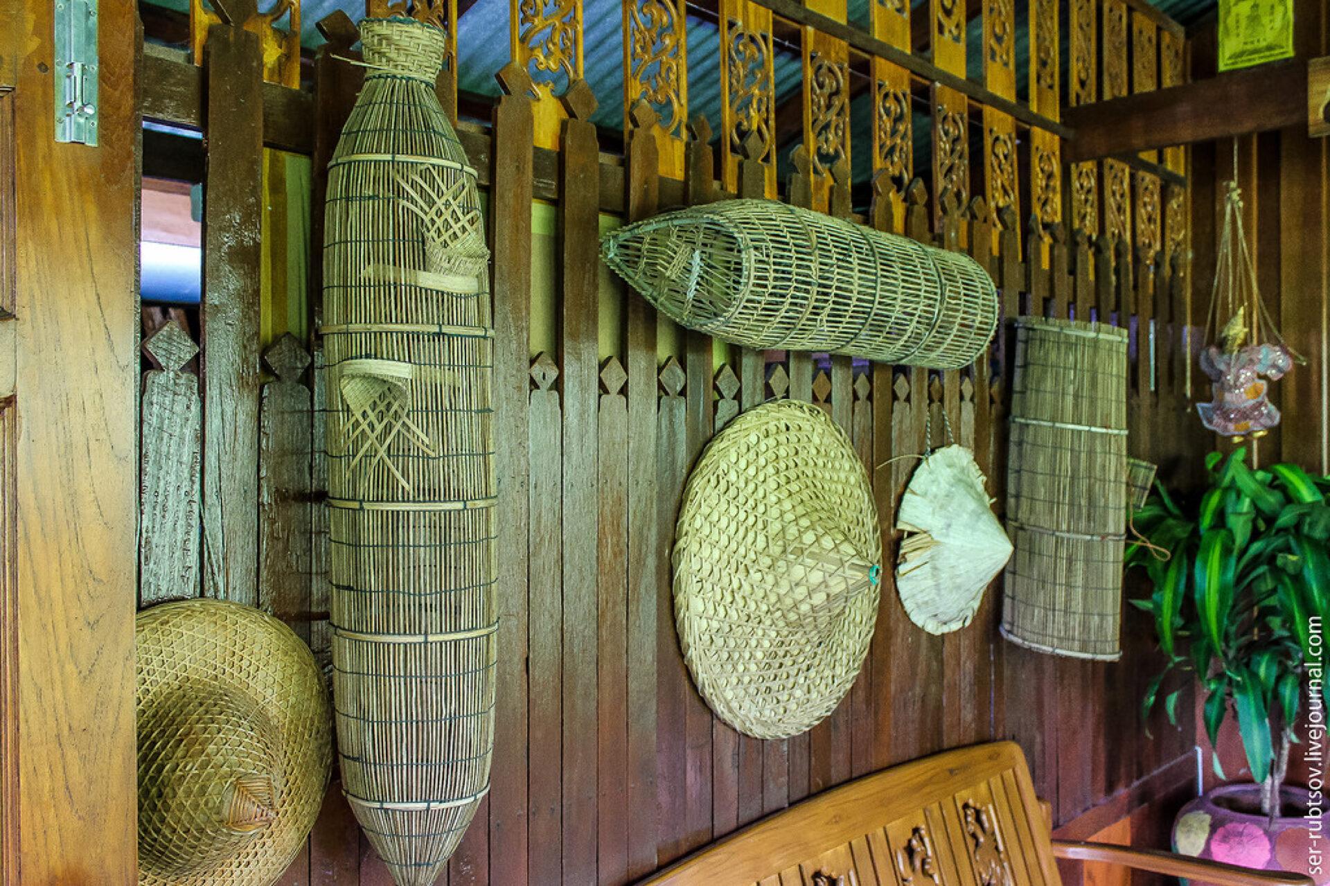 Хижина тайской семьи