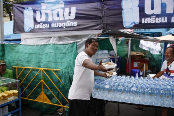 Таиланд. Многоликий Бангкок: дзен иполитические митинги.