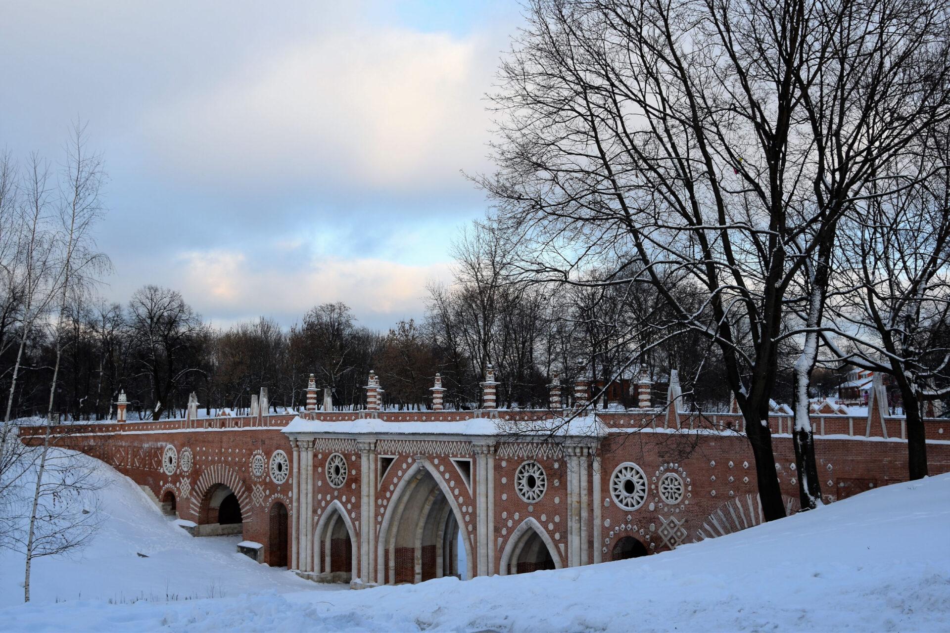 Зимнее Царицыно