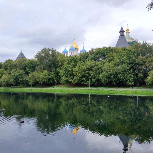 Новоспасский пруд… Москва
