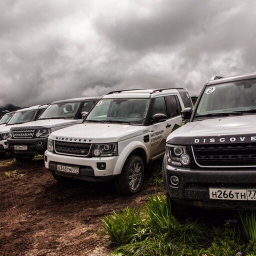 По Камчатке на Land Rover
