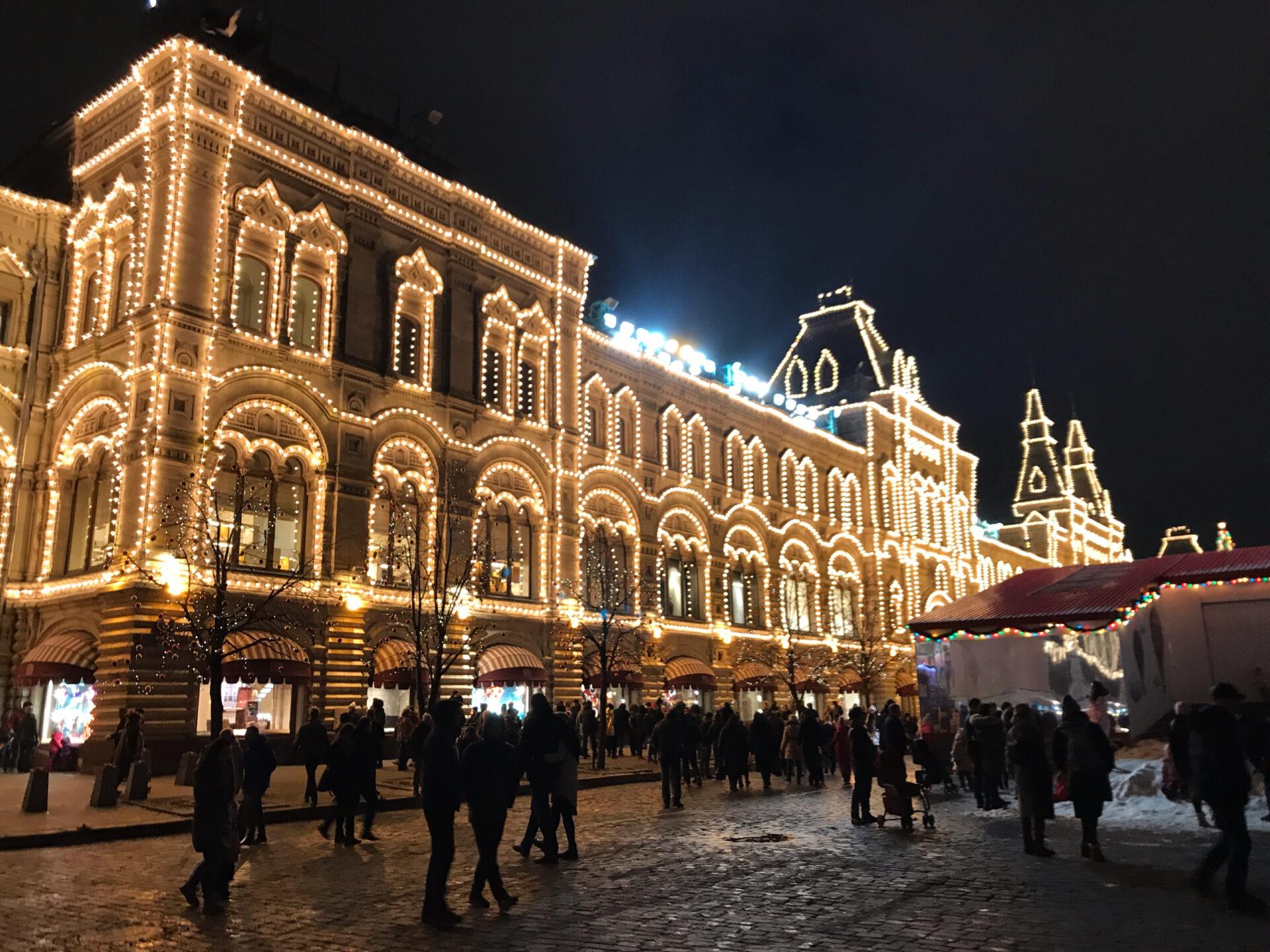 Новогодняя Красная площадь!