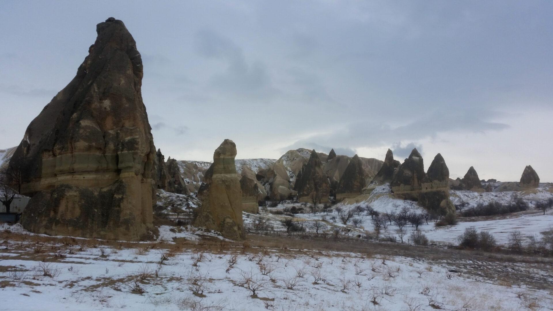 Долина фаллосов идругие достопримечательности Каппадокии