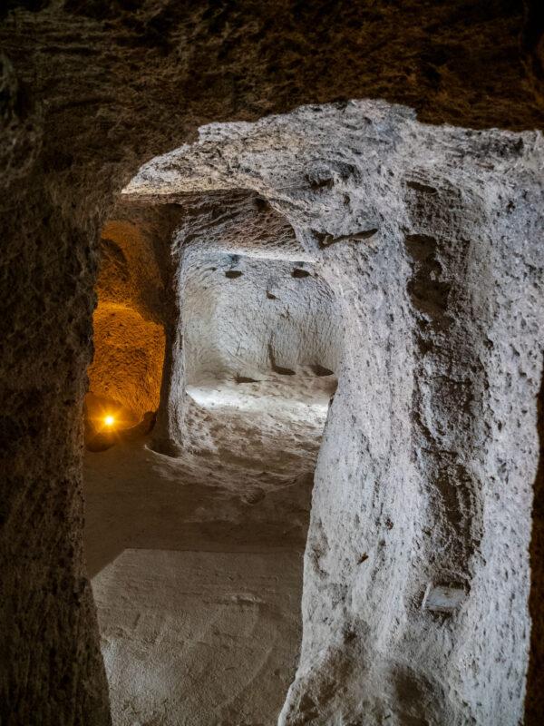 Каппадокия. Подземный город Каймаклы