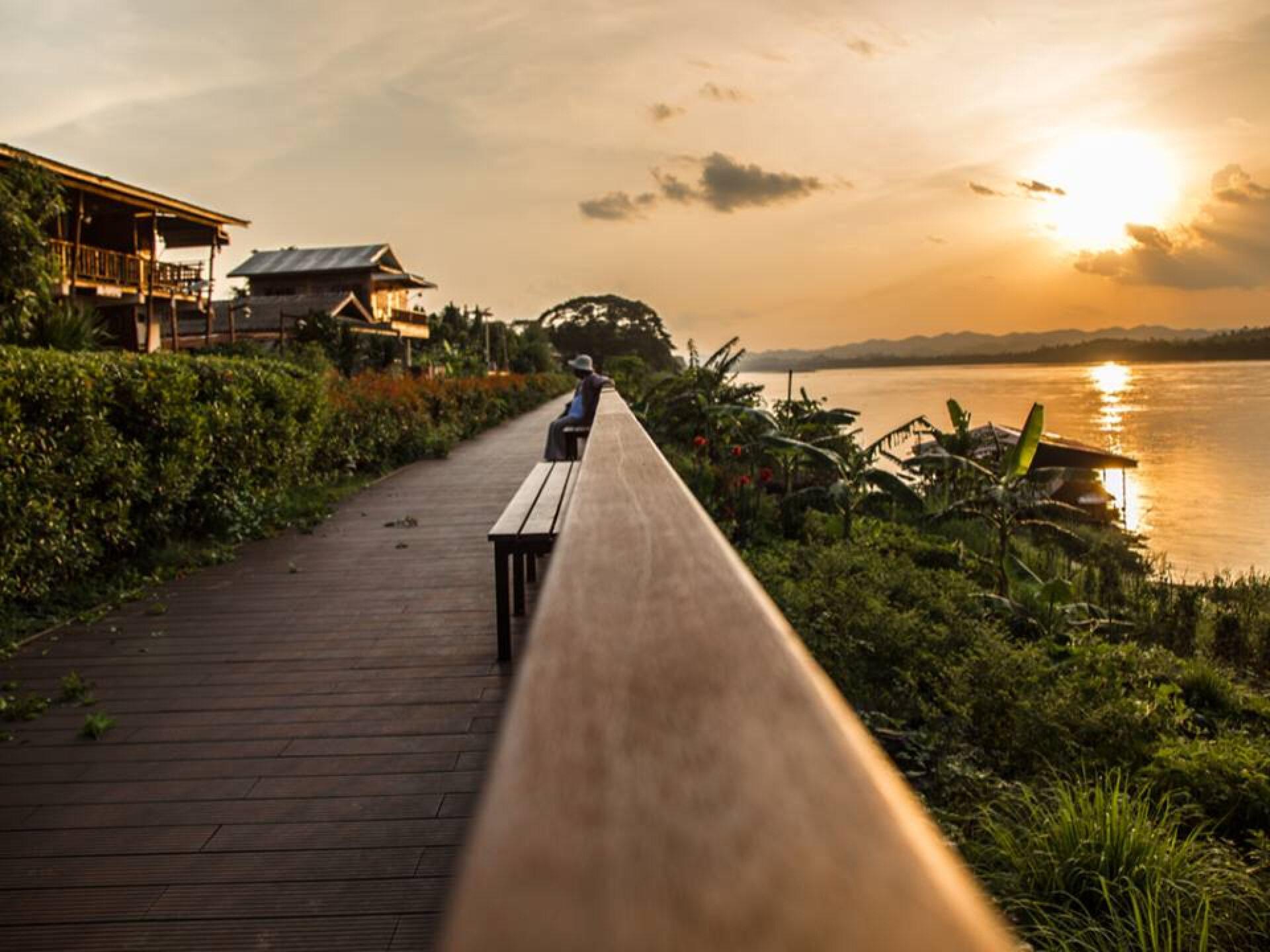 Чудесный тайский городишко Чианг Кхан.