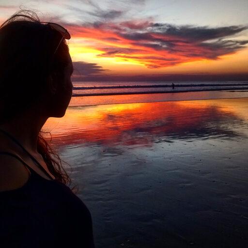 Морские закаты — one love