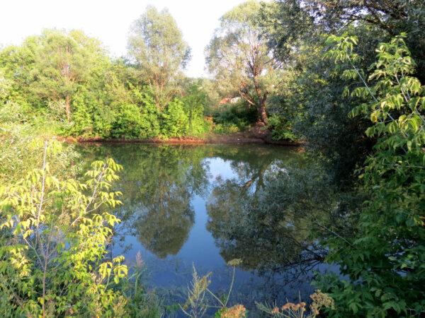 Голубые озера вКазани.