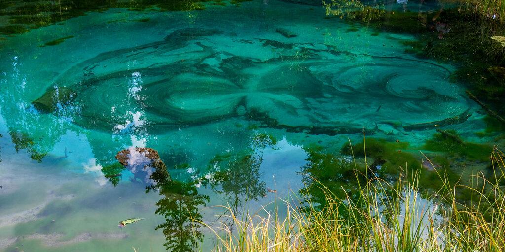 Алтай. Гейзерово озеро.